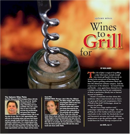 wines to grill for