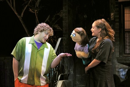 Avenue Q Christmas Eve.Puppets Dish Gritty Reality In Avenue Q San Diego Uptown