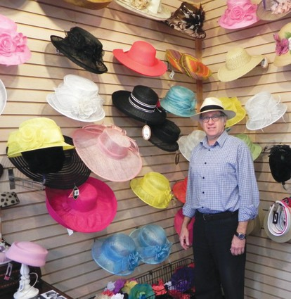 Hats off to the races  Village Hat Shop turns heads for racetrack s ... ddf0d2c3a65