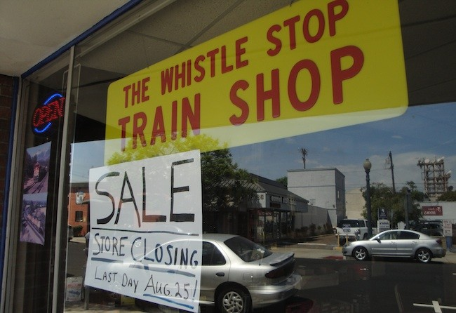 Hobby Store San Diego >> Whistle Stop Train Shop Comes To A Halt San Diego Uptown News