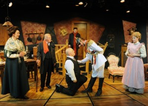 """The Underpants"" runs through Sept. 30 in Solana Beach. (Courtesy North Coast Rep)"