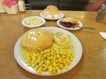 """Their """"Famous Chicken Pie Dinner"""" sells for $7.50. (Photo by Morgan M. Hurley)"""
