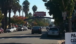 The famous University Heights sign. (Photo by Anita Sotomayor)