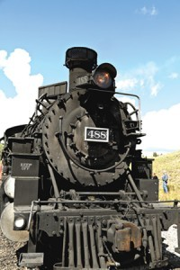 A train active on the historic Cumbres & Toltec Scenic Railroad (Photo by Ron Stern)