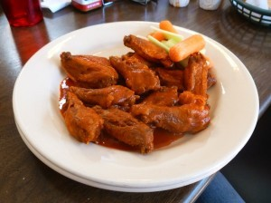 Buffalo chicken wings (Photo by Frank Sabatini Jr.)