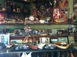 Items in La Cueva Nostalgia are themed around brothers Tino and Sal Gonzalez's vintage tastes. (Photo by Jessica Dearborn)
