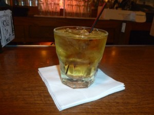 Scotch and water at a fair price (Photo by Dr. Ink)