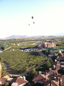 A balloon view over Temecula Valley (Photo by SDUN)