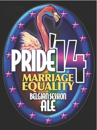 Pride 14 Marriage Equality Awareness Beer Label