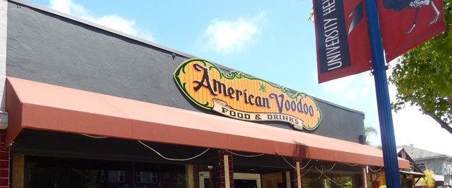 The recently closed American Voodoo in University Heights (Photo by McKenna Aiello)