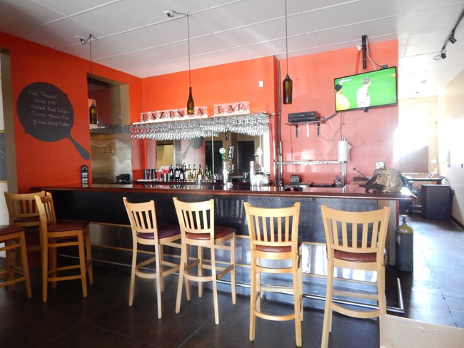 The Bar in North Park's Bazinga Eatery (Photo by McKenna Aiello)