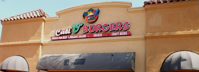 "Cali ""O"" Burgers is up and running on University Avenue. (Photo by Frank Sabatini Jr.)"