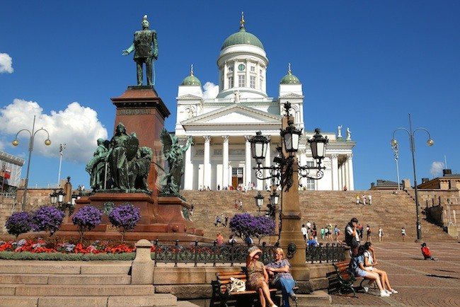 The Senate Square in Helsinki, Finland. (All photos by Ron Stern)