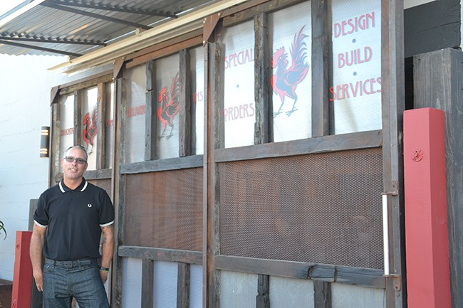 North Park Nursery owner Paul Hunyady stands in front of his business's new location (Photo by Eric Sanchez)