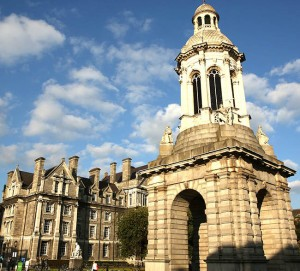 Trinity College, home to the famous Book of Kells (Photo by Ron Stern)