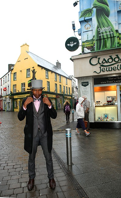 A street performer in Galway, a pleasant two-hour drive from Dublin (Photo by Ron Stern)