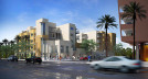 Artist's rendition of the LGBT-affirming senior housing complex coming to North Park  (Rendering by Joe Cordelle; architecture by Rodriguez + Associates Architects and Planners)
