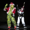 (from left) Burke Moses as The Grinch and Jeffrey Schecter as Young Max (Photo by Jim Cox)