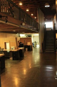 The interior of Union 1, the original location of Union Cowork in North Park (Photo by Hutton Marshall)