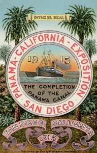 the official poster for the 1915 exposition (Courtesy San Diego History Center)