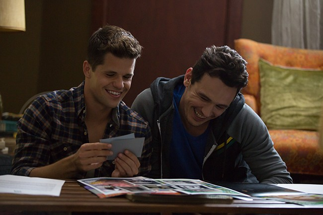 """Charlie Carver (left) and James Franco star in """"I Am Michael.""""(Courtesy of """"I Am Michael"""")"""