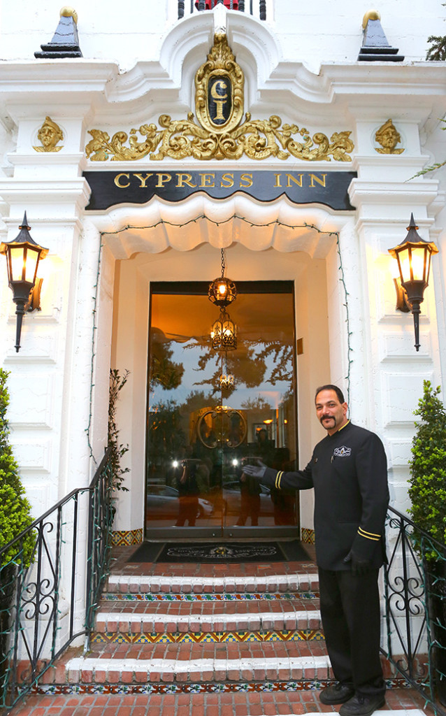 The Cypress Inn in Carmel is co-owned by Doris Day. (Photo by Ron Stern)