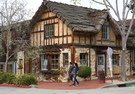 Carmel-by-the-Sea might remind you of a seaside English village. (Photo by Ron Stern)