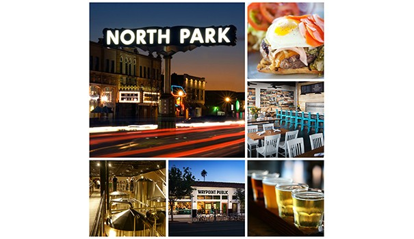 North Park will host a number of events in association with the Brew's Up San Diego — 2015 National Homebrewers Conference. (Photo collage courtesy of Waypoint Public)