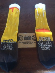 Win your drinking socks. (Courtesy of Summer Solstice Ale Trail)