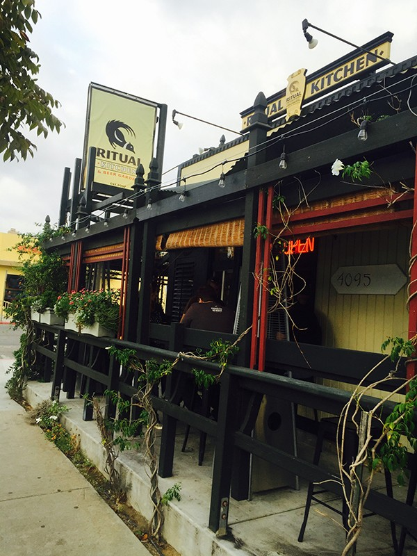The Ritual Kitchen and Beer Garden exterior2 – San Diego