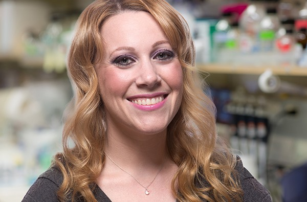 Salk Institute scientist Janelle Ayreshas, a Mission Hills resident, will use her award to further her research for treating infectious disease. (Courtesy of Salk Institute)