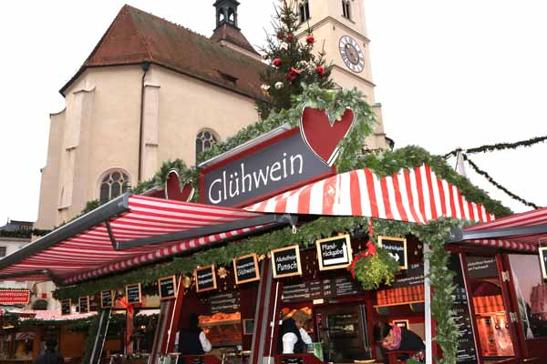 Christmas Market in Regenburg