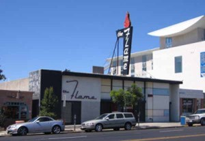 The Flame nightclub in Hillcrest (Courtesy of Location Matters)