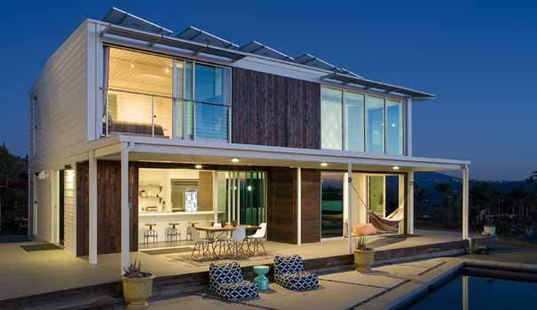 Connect Homes will conduct three tours Jan. 12 on their prefab home in  Bonsall in
