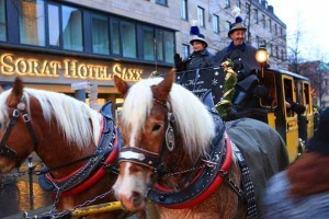 Horse carriage in Nuremberg, Germany