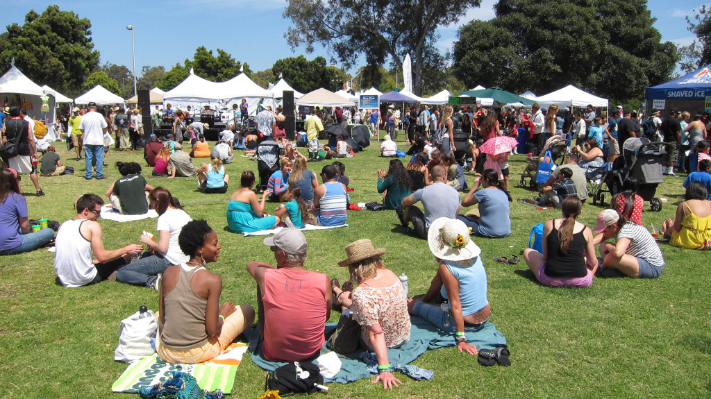 Nearly 600,000 people are expected to take part in this year's EarthFair at Balboa Park April 17. (Courtesy San Diego EarthWorks)