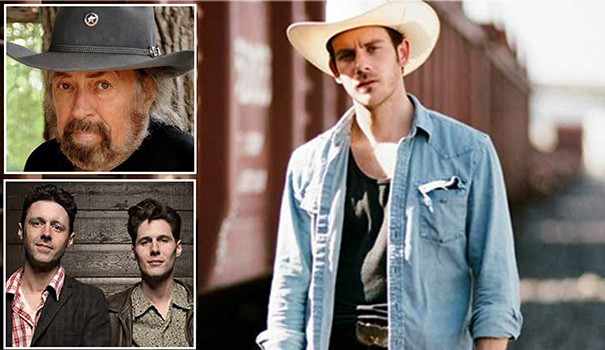 (clockwise, from top left) Augie Meyers, Sam Outlaw and The Cactus Blossoms are the headliners at the 2016 Adams Avenue Unplugged festival. (Photos courtesy of the performers)