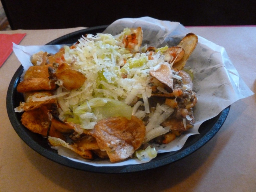 Nachos with an Italian spin (Photo by Dr. Ink)
