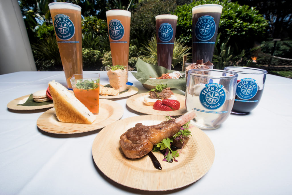 Seven Seas Food Festival takes place every Saturday and Sunday, from May 7 to June 12. (Courtesy of SeaWorld San Diego)