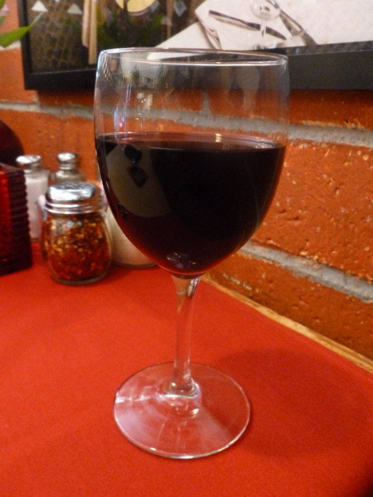 A full-bodied Chianti (Photo by Dr. Ink)