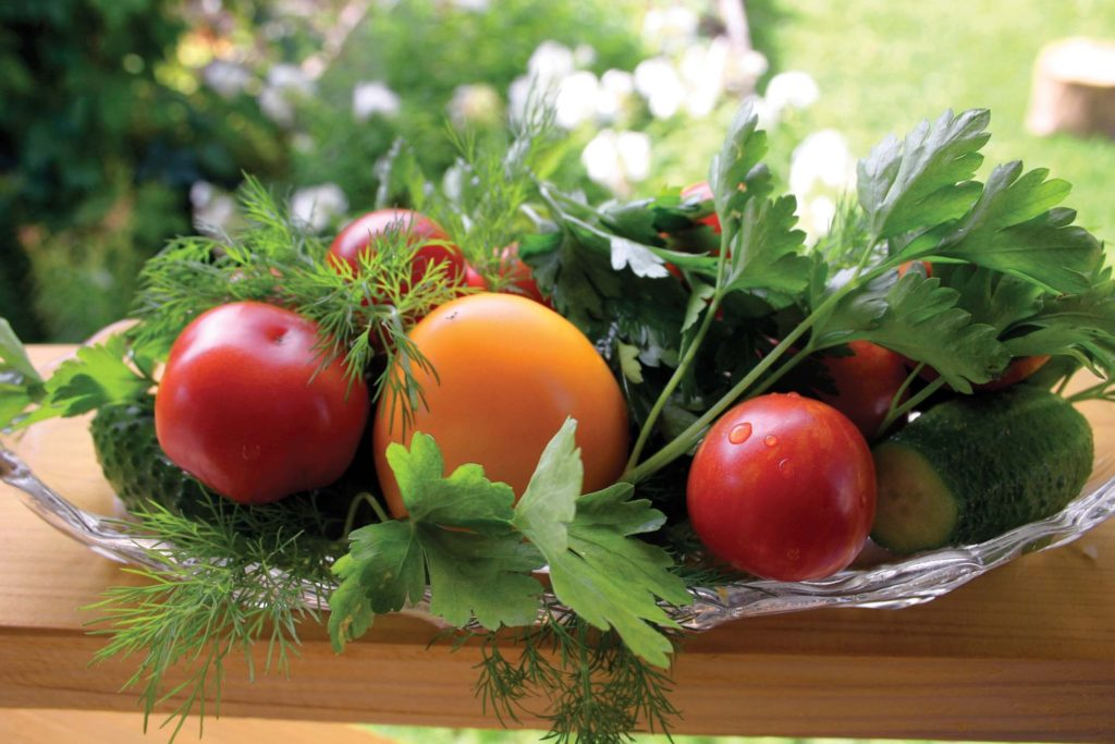 Heirloom tomatoes, including Cherokee Purple, are known for their flavor and different colors. (Courtesy of Armstrong Garden Centers)