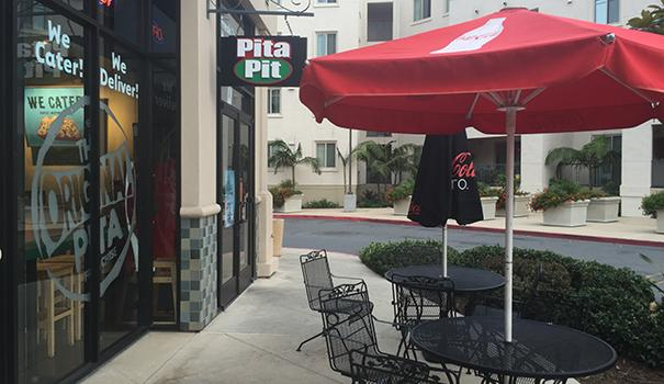 Pita Pit in Linda Vista is the only San Diego location, but it is an international chain. (Photos by Frank Sabatini Jr.)