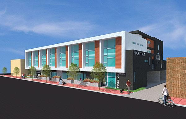 Habitat on 31st will do its part to offset the housing shortage in Uptown. (Courtesy of Bejan Arfaa)
