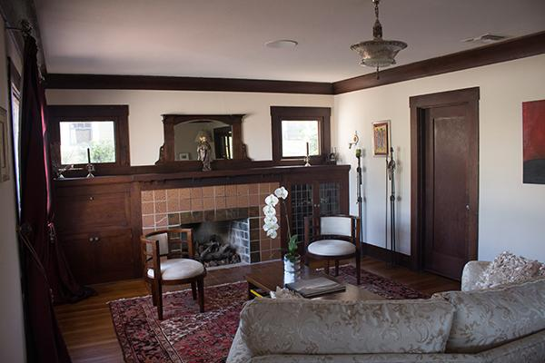 Interior of the Tuggle house (Photo by Rebecca Tuggle)