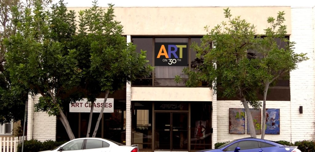 Exterior of the Art of 30th building (Courtesy of Art on 30th)