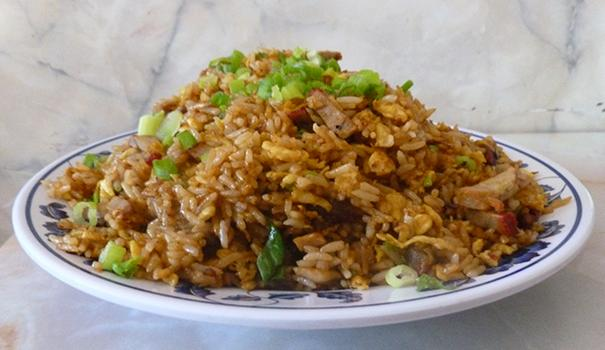 Barbecued pork fried rice (Photo by Frank Sabatini Jr.)