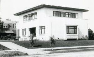 Hugo Klauber House (1908), demolished circa 2000. (Courtesy of Coons Collection)