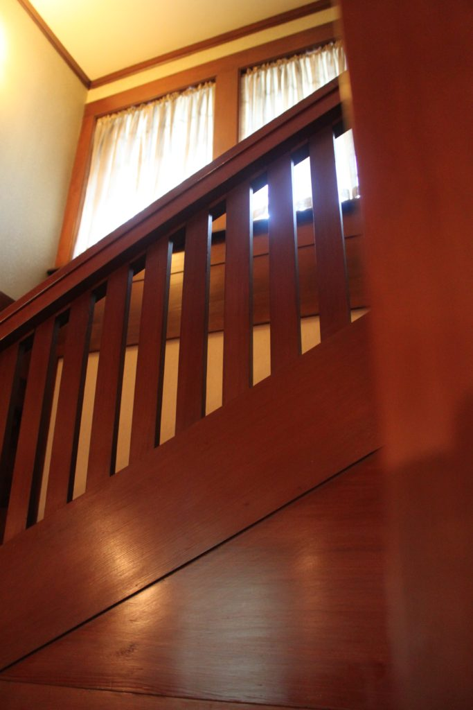 Marston House stairway (Photo by Michael Good)