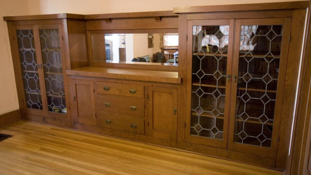 David Owen Dryden china cabinet (Photo by Zack Gemmell)