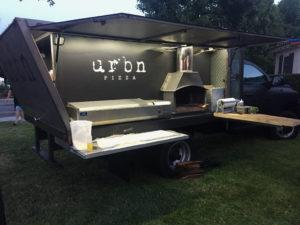 A new pizza truck hits the streets. (Courtesy of URBN Catering)
